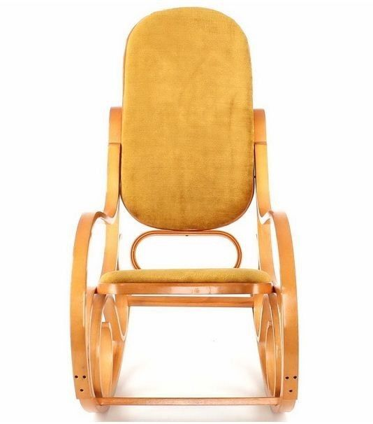Кресло Calviano Золотая осень мех - фото 2