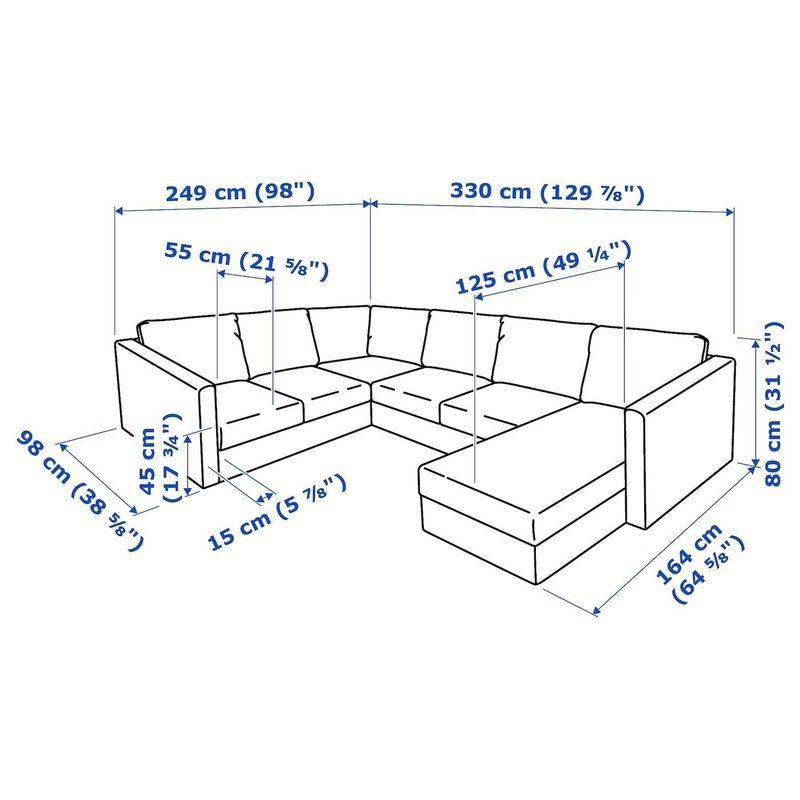 Диван IKEA Вимле 492.114.21 - фото 7