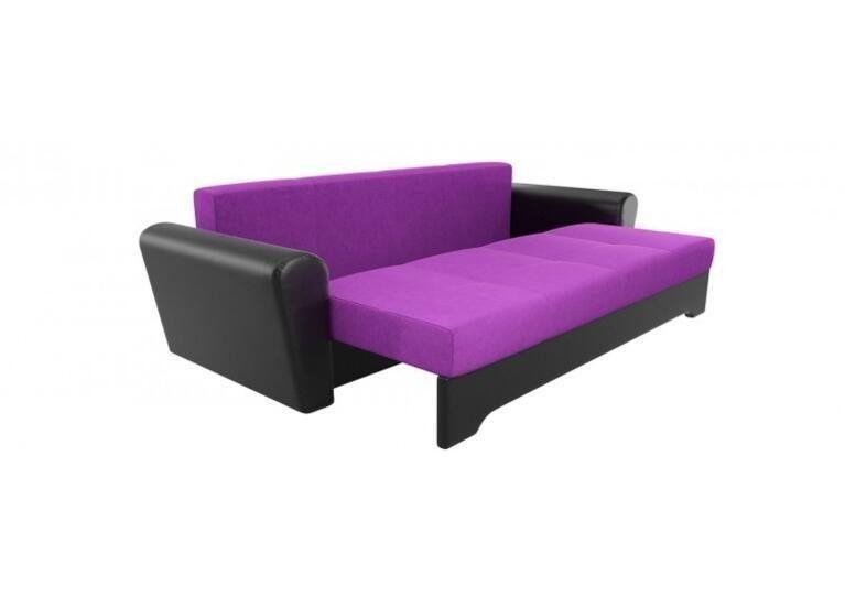 Диван Craftmebel Амстердам фиолетовый/чёрный вельвет - фото 2