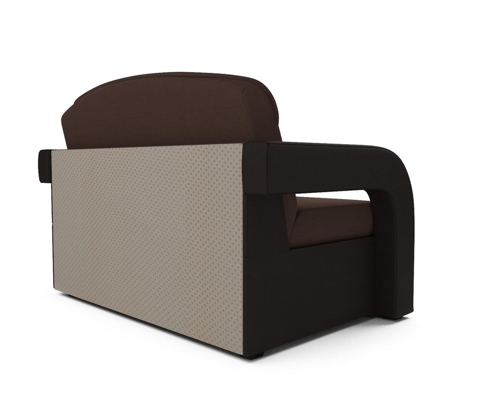 Диван Мебель-АРС Кармен-2 (рогожка шоколад + экокожа) - фото 3