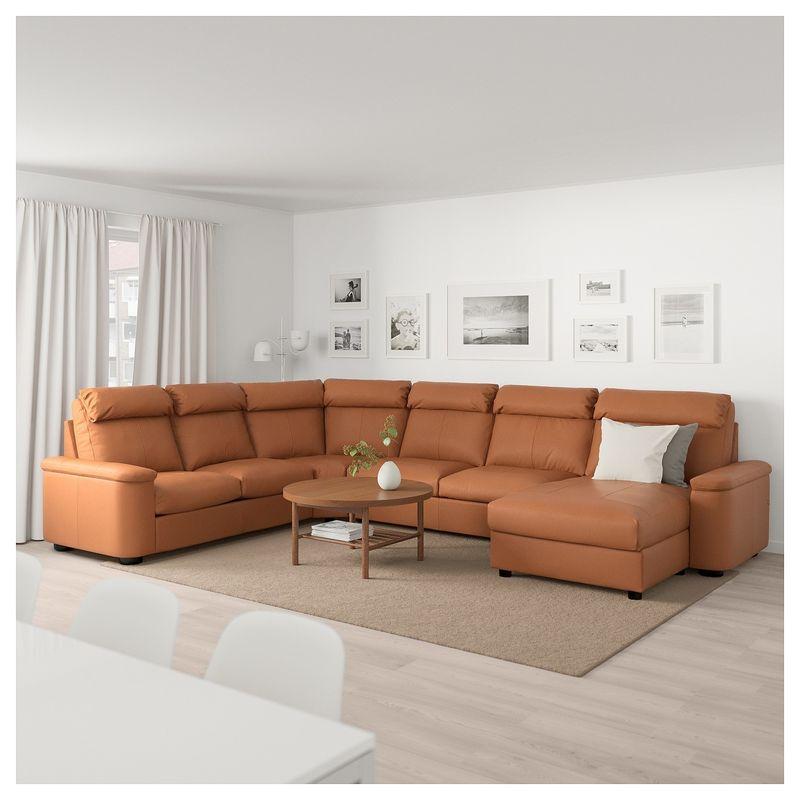 Диван IKEA Лидгульт золотисто-коричневый [692.776.23] - фото 2