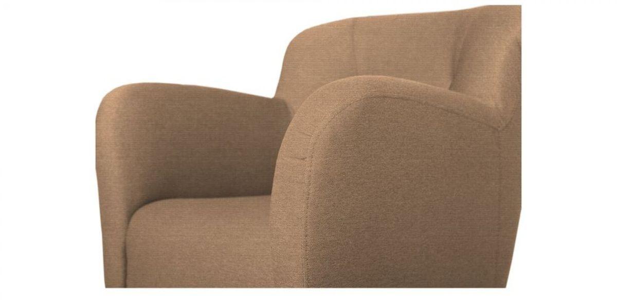 Кресло WOWIN Ингрид (Пудровая микророгожка) - фото 3