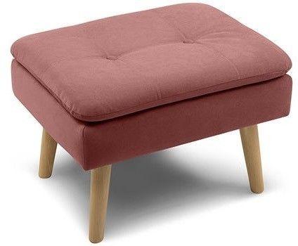 Пуфик Woodcraft Дублин Velvet Pink пуф - фото 2