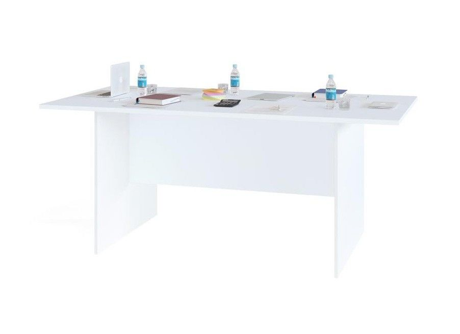 Стол офисный Сокол-Мебель СПР-05 (белый) - фото 1