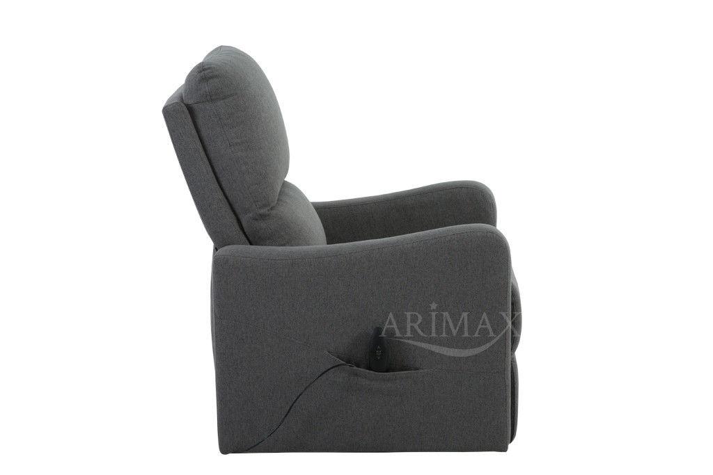 Кресло Arimax Dr Max DM02006 (Серый) - фото 5