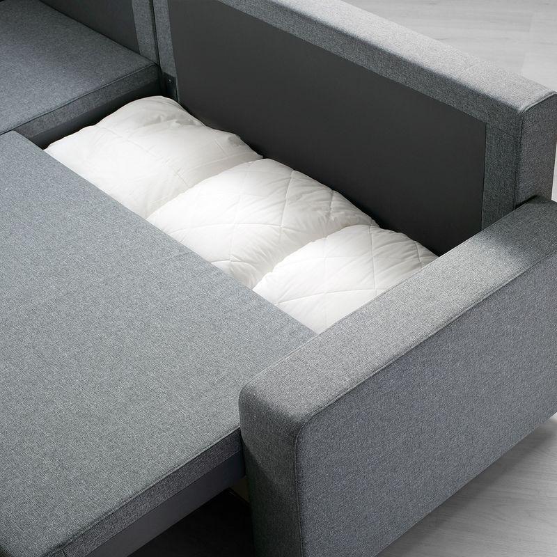Диван IKEA Гиммарп светло-серый [304.489.04] - фото 6