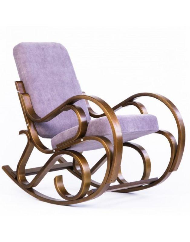 Кресло Impex Луиза вишня (шоколад) - фото 4