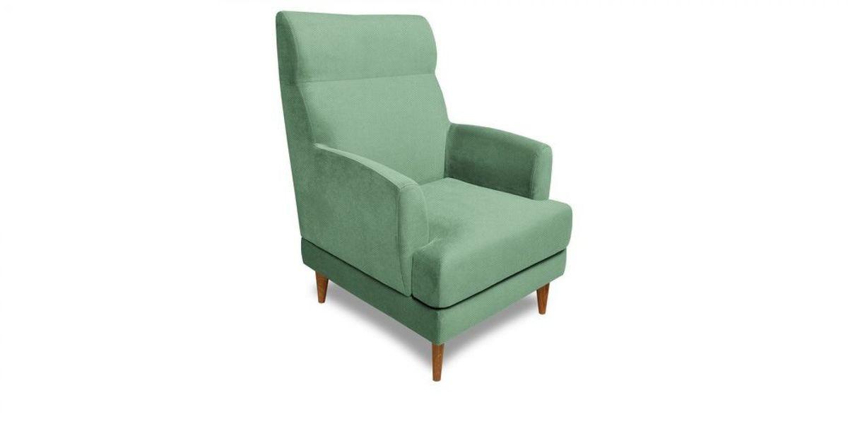 Кресло WOWIN Айленд (Мятная рогожка) - фото 1