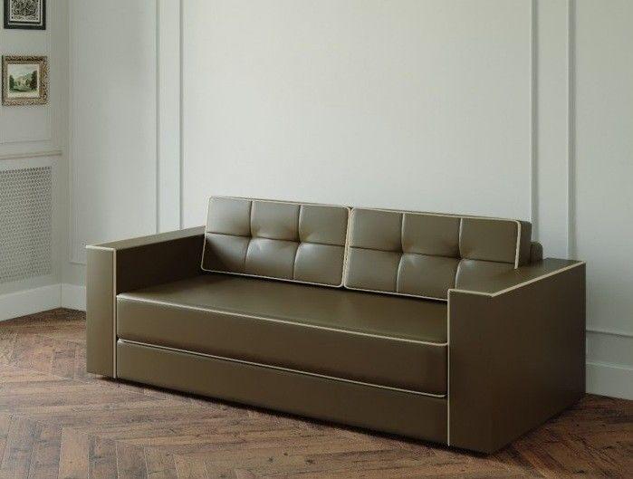 Диван Настоящая мебель Ванкувер Модерн (модель: 00-000034539) светло-коричневый - фото 1