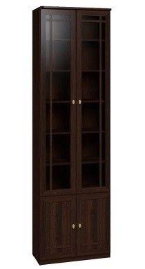 Глазовская мебельная фабрика Sherlock 32 для книг (орех шоколадный) - фото 1