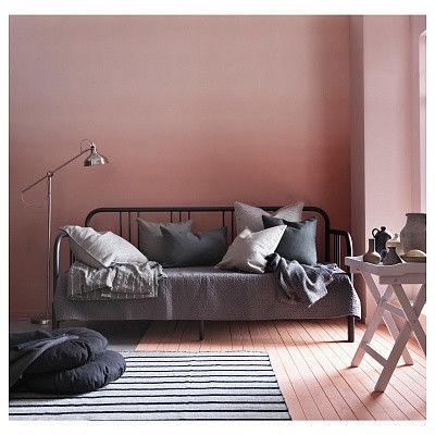 Диван IKEA Кушетка с 2 матрасами Фиресдаль черный [592.792.98] - фото 6