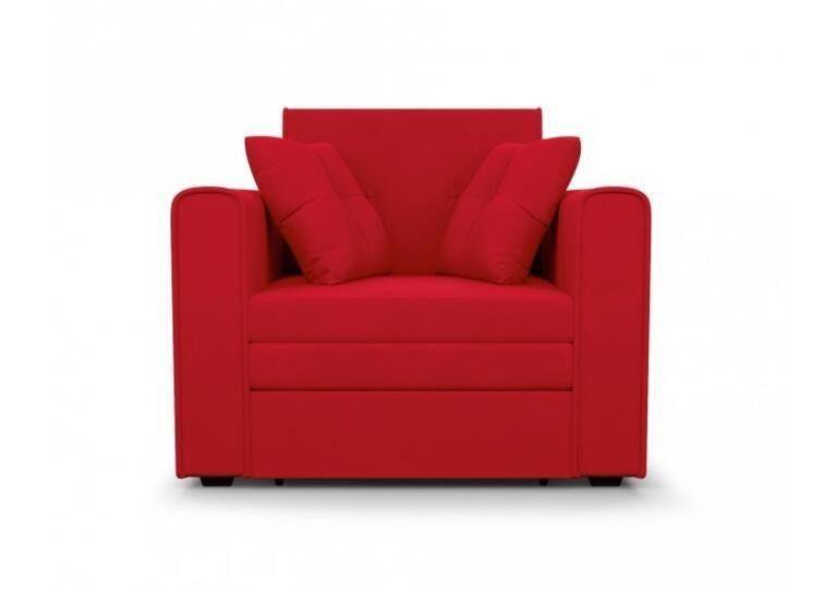 Кресло Craftmebel Санта (кордрой красный) - фото 7