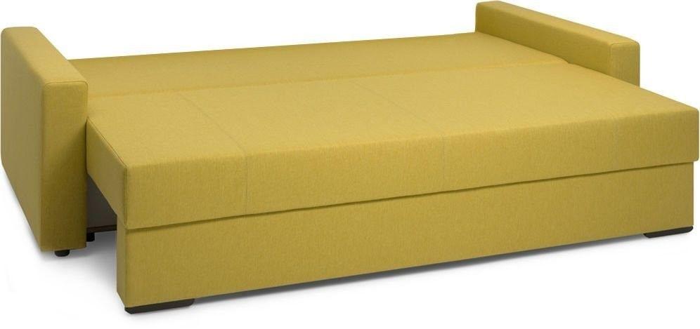 Диван Woodcraft Порту Textile Yellow - фото 7