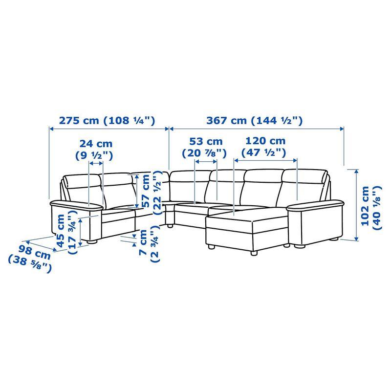 Диван IKEA Лидгульт [292.572.69] - фото 6