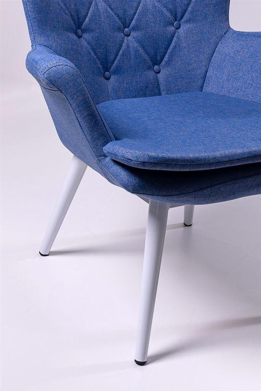 Кресло ФорестДекоГрупп Афакан (синий) AFAKAN-BL - фото 3
