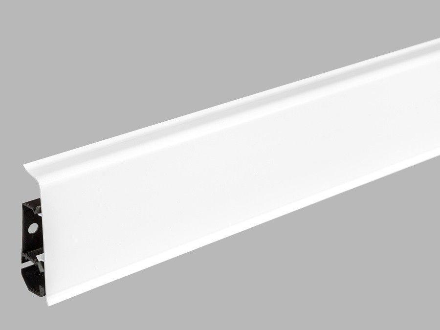 Плинтус Arbiton Indo 01 Белый Блеск - фото 1