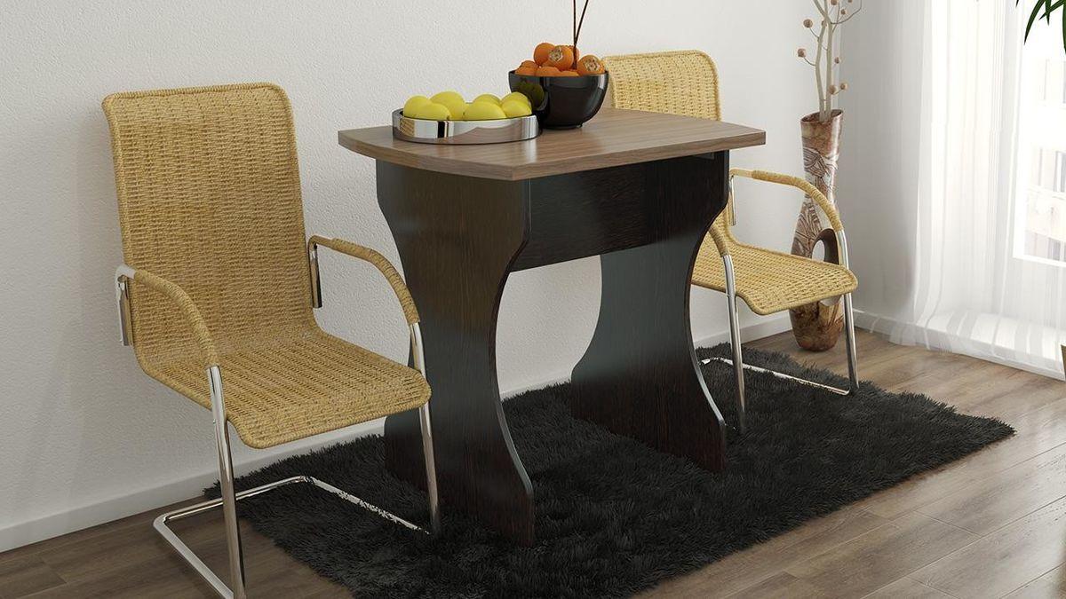 Обеденный стол ТриЯ на деревянных ножках Турин 2 - фото 2