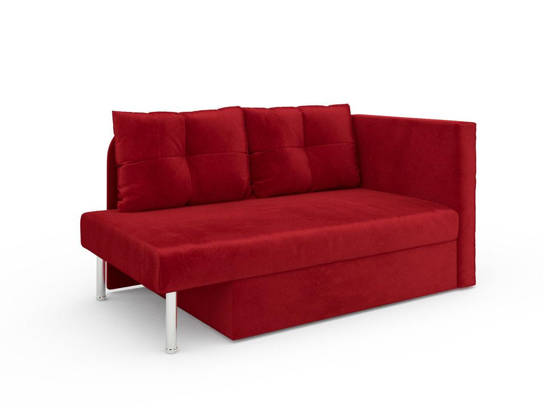 Диван Мебель-АРС Алиса (бархат красный / STAR VELVET 3 DARK RED) - фото 7
