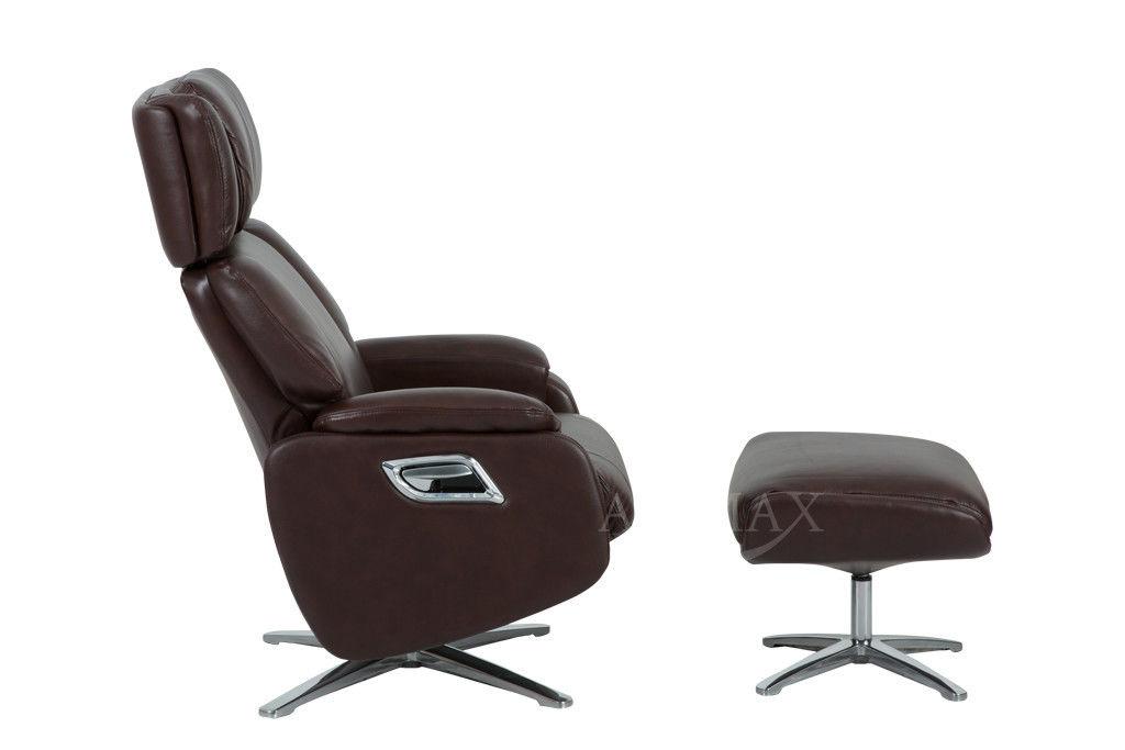Кресло Arimax Dr Max DM02009 (Каштан) с подставкой для ног - фото 2