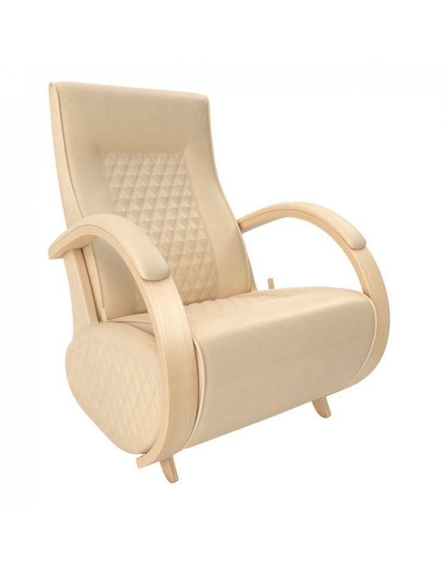 Кресло Impex Balance-3 экокожа натуральный (vegas lite black) - фото 2