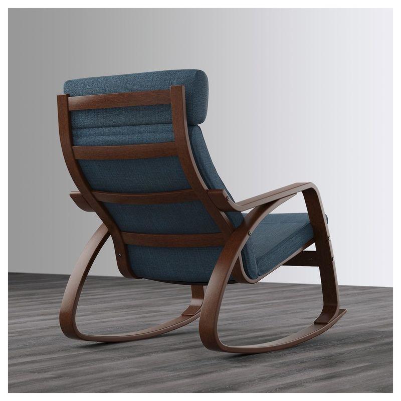 Кресло IKEA Поэнг 192.515.45 - фото 3