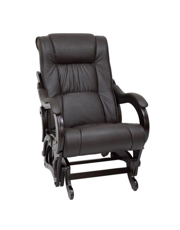Кресло Impex Кресло-гляйдер, Модель 78 экокожа (Dundi 108) - фото 1