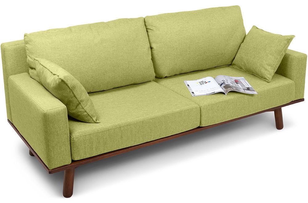 Диван Woodcraft Миннесота Textile Lime - фото 2