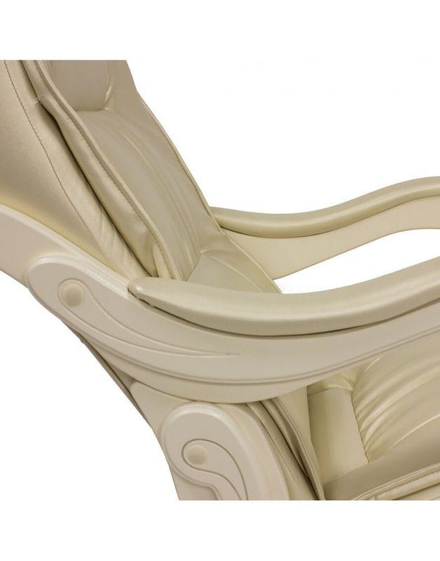 Кресло Impex Модель 77 сливочный Экокожа (oregon 106) - фото 4