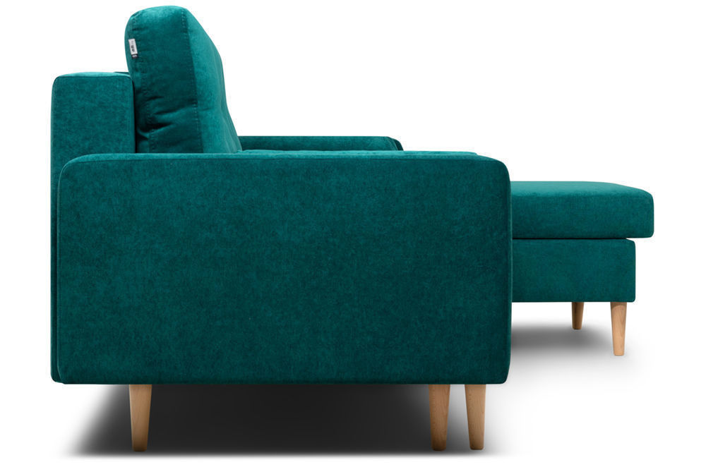 Диван Woodcraft Динс Velvet Угловой Emerald - фото 7