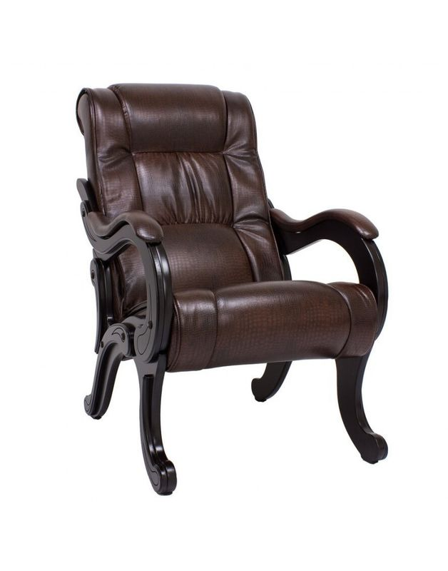 Кресло Impex модель 71 (vegas lite black) - фото 2