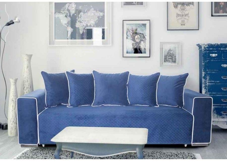 Диван ZMF Монреаль (ПБ, синий) - фото 1