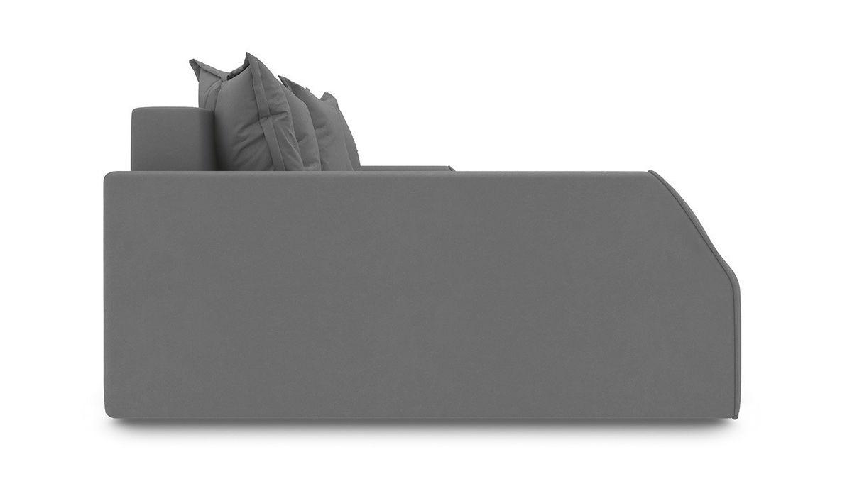 Диван ТриЯ левый «Люксор Slim Т2» (Kolibri Mocco (велюр) коричневый) - фото 5