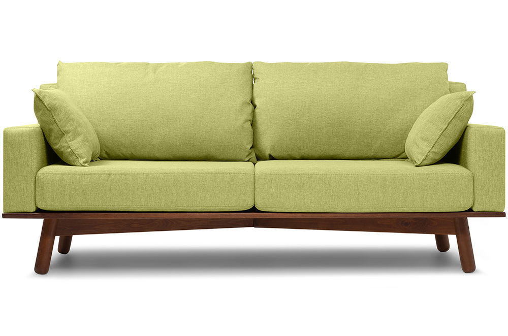 Диван Woodcraft Миннесота Textile Lime - фото 1