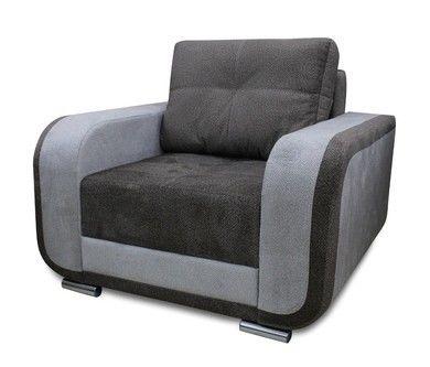 Кресло Экомебель Милан ПР 5.2 без механизма (ткань 2) модель 2 - фото 1