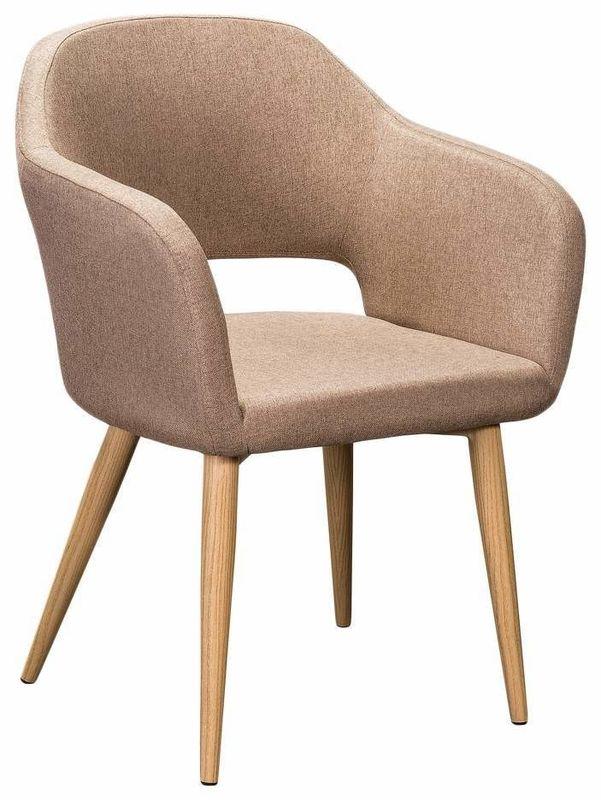 Кресло R-Home Oscar Сканди Браун RST_4101184H, бежевый - фото 2
