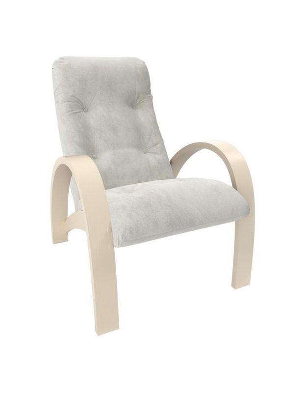 Кресло Impex Модель S7 Verona  сливочный (light grey) - фото 1