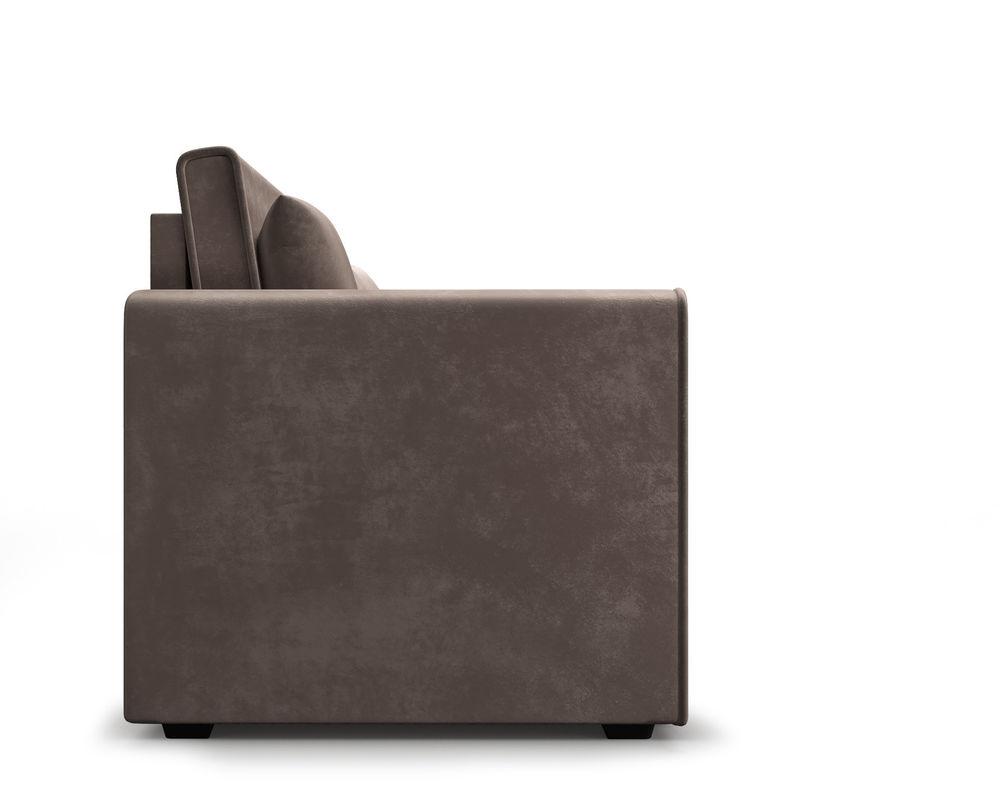 Диван Мебель-АРС Санта (бархат серо-шоколадный  STAR VELVET 60 COFFEE) - фото 3