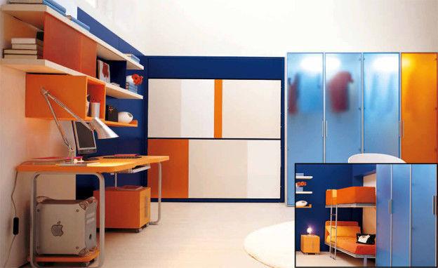 купить шкаф купе Modern House детские Spazio в минске цены фото