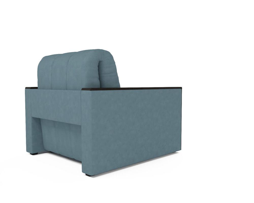 Кресло Мебель-АРС Техас голубой Luna 089 (микровелюр) - фото 4