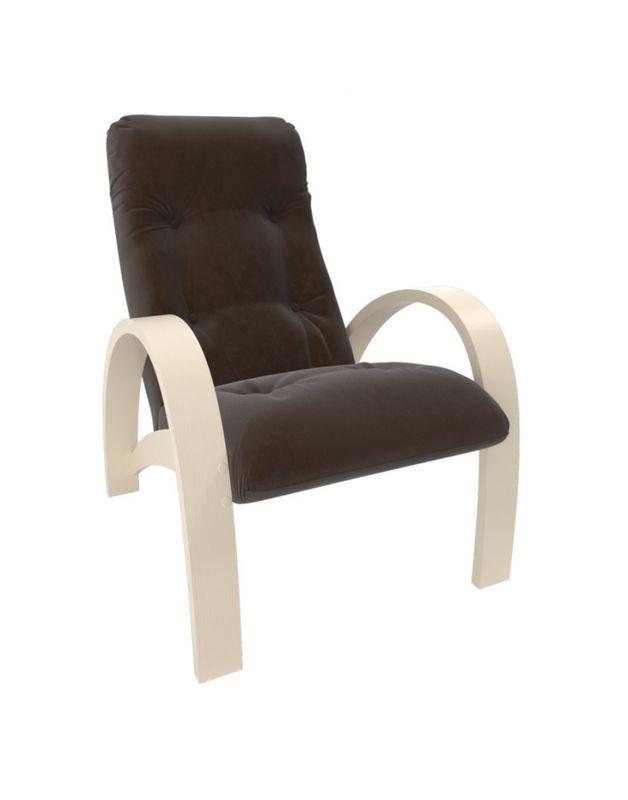 Кресло Impex Модель S7 Verona  сливочный (brown) - фото 1