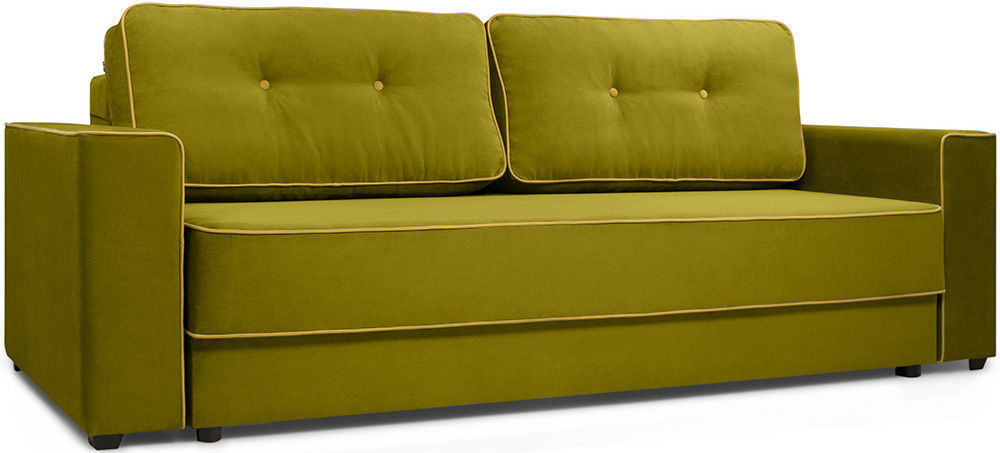 Диван Woodcraft Менли НПБ холлофайбер Velvet Lime - фото 2