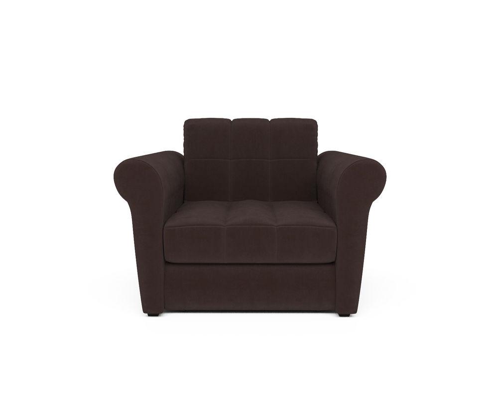 Кресло Мебель-АРС Гранд молочный шоколад велюр (НВ-178/13) - фото 2