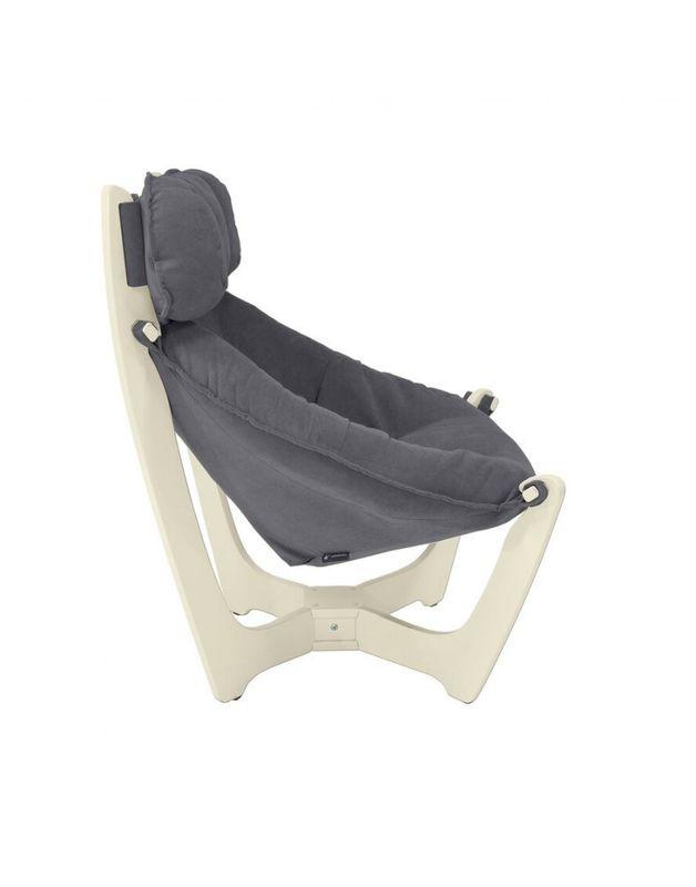 Кресло Impex Модель 11 verona сливочный (Antrazite grey) - фото 5