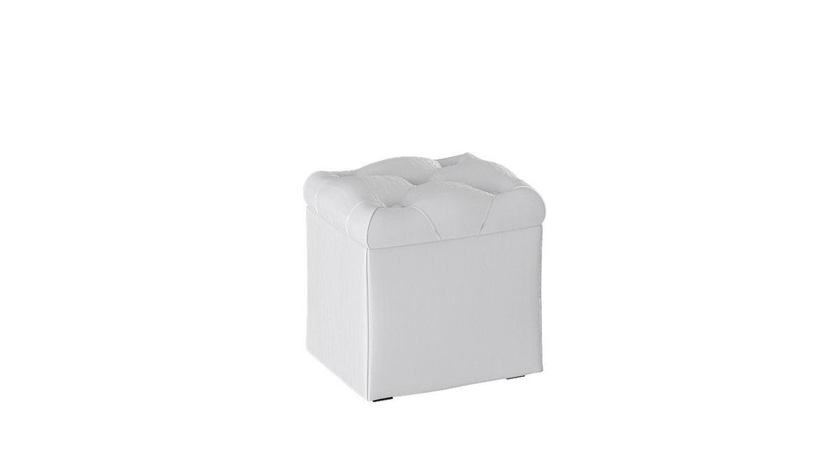 Пуфик ТриЯ Тип 4 (Белый кашемир) - фото 2