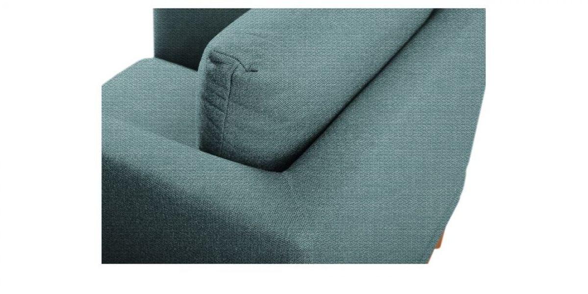 Кресло WOWIN Эстар (Бледно-васильковая рогожка) - фото 4