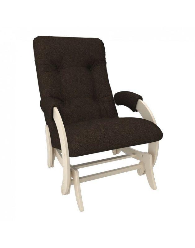 Кресло Impex Кресло-гляйдер Модель 68 Мальта сливочный (Мальта 15) - фото 1