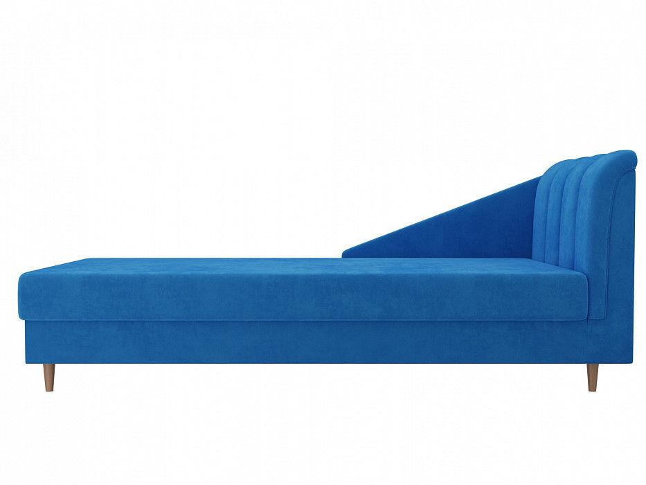 Диван ЛигаДиванов Астер велюр (голубой) - фото 4