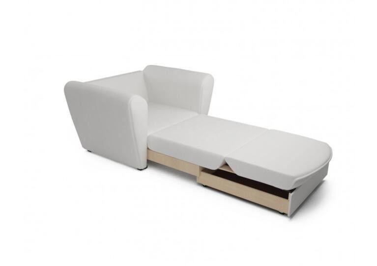 Кресло Craftmebel Квартет - экокожа белая - фото 2