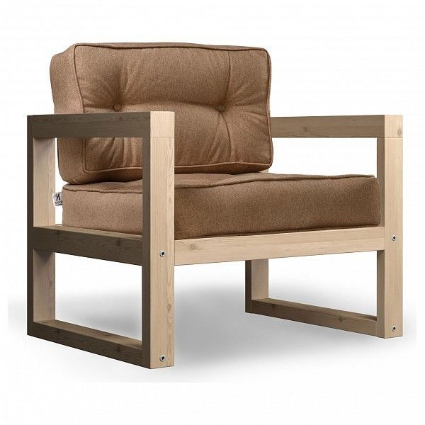 Кресло Anderson Астер AND_122set227, коричневый - фото 1