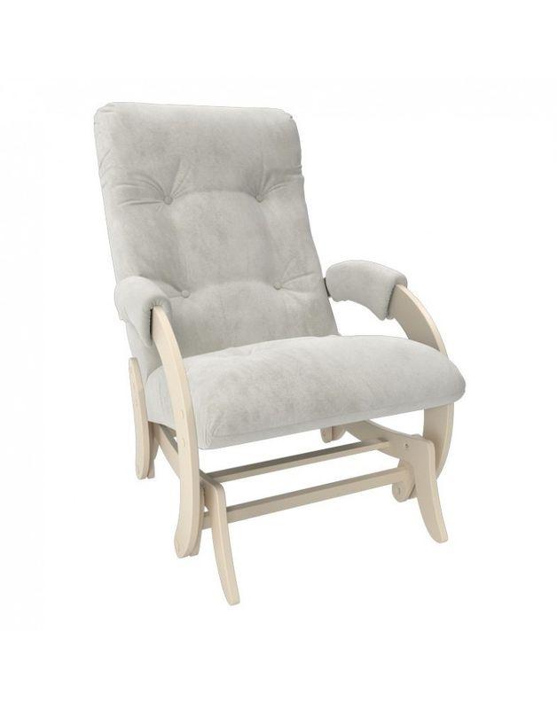 Кресло Impex Кресло-гляйдер Модель 68 Verona сливочный (light grey) - фото 1